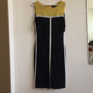 Lauren Ralph Lauren colorblock dress